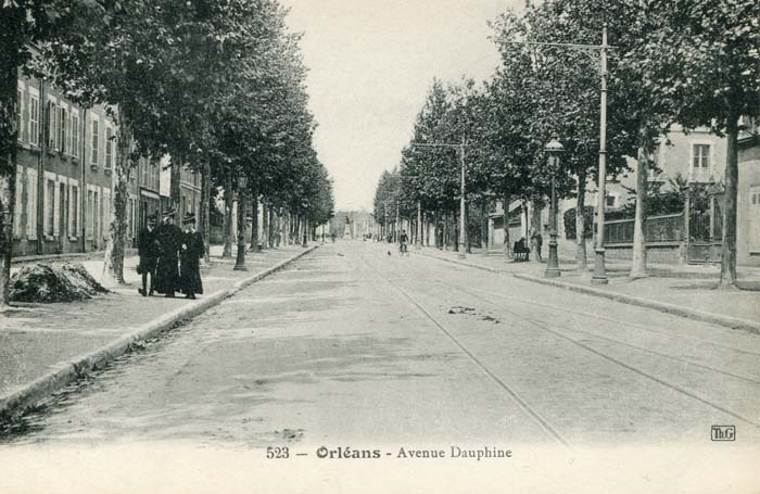 Avenue Dauphine - Perspective, 1908