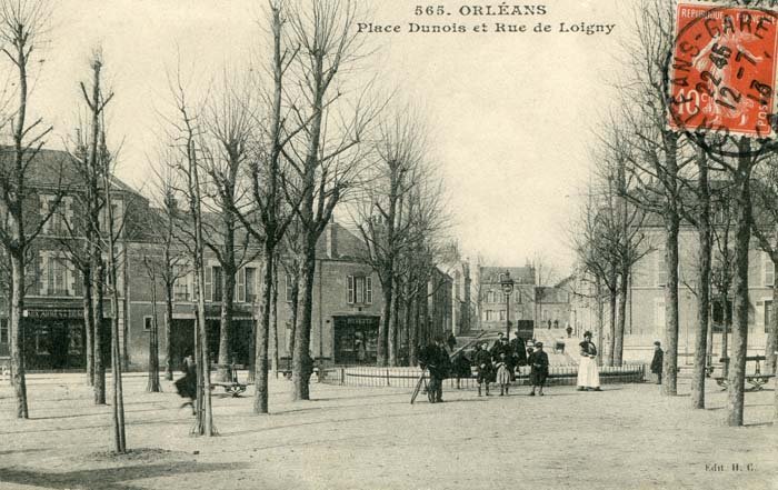 La Place Dunois, 1913