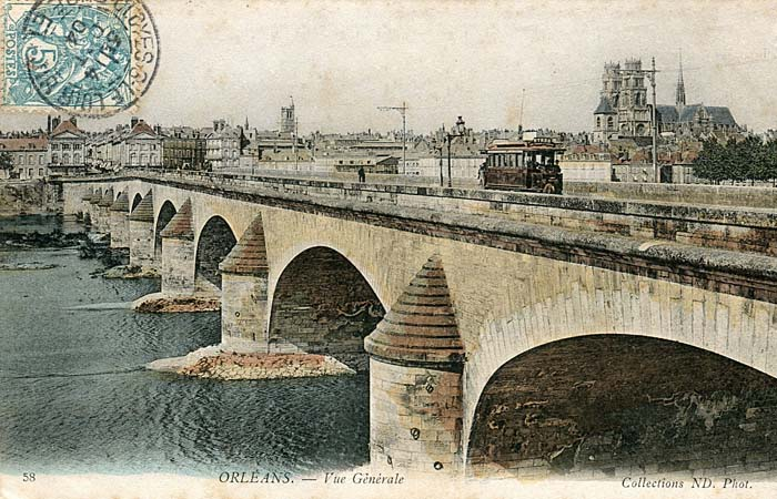 Pont Royal - Depuis le Quai de Prague, 1904