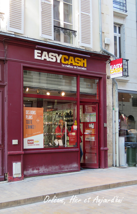 Rue Charles Sanglier - Magasin Easy Cash, Janvier 2020