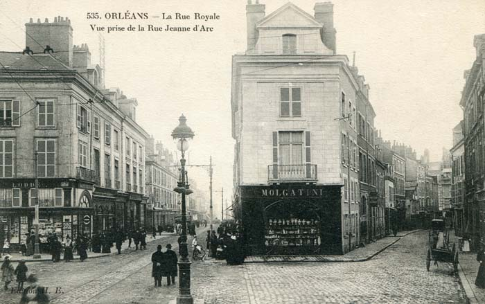 Rue Royale - Angle rue Vieille Poterie, 1917